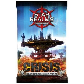Star Realms Deck Building Game Expansion: Crisis Fleets & Fortresses Booster Pack Erweiterung - English