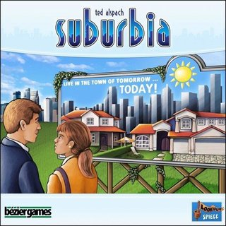 Suburbia - Board Game - Brettspiel - Englisch - English