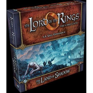 Land of Shadow A Saga Expansion - The Lord of the Rings: The Card Game LCG - Englisch - English