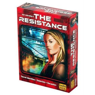 The Resistance (3rd Edition) - Board Game - Brettspiel - English - Englisch