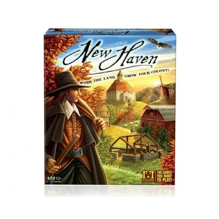 New Haven Board Game - Brettspiel - Englisch - English