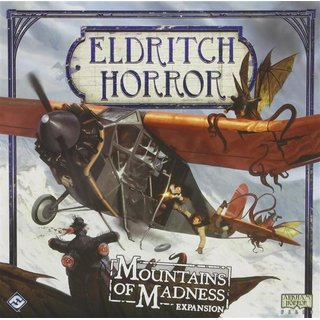Eldritch Horror: Mountains of Madness Expansion - Board Game - Brettspiel - Englisch - English