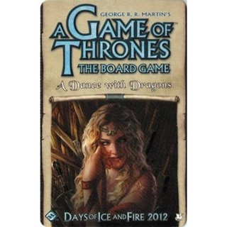 A Game of Thrones: The Board Game: A Dance With Dragons Expansion - Brettspiel - Englisch - English