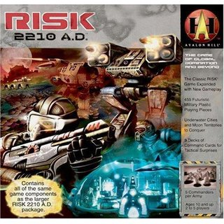 RISK 2210 A.D. - Board Game - Brettspiel - Englisch - English