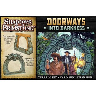 Shadows of Brimstone: Doorways Into Darkness Expansion - Englisch - English