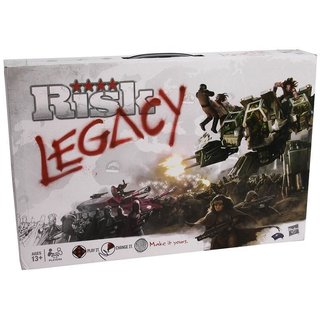 RISK Legacy - Board Game - Brettspiel - Englisch - English