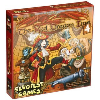 Red Dragon Inn 4 Board Game - Englisch - English
