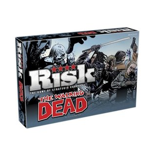 Walking Dead Risk Survival  Edition - Brettspiel - Englisch - English