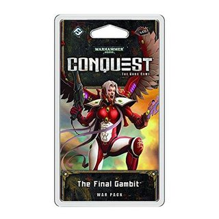 Warhammer 40,000 Conquest The Final Gambit War Pack - LCG - Englisch - English