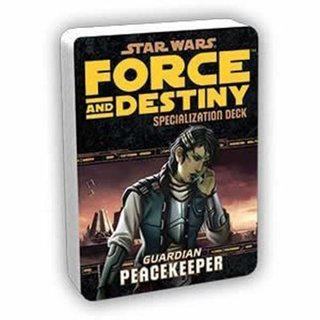 Star Wars Force and Destiny Peacekeeper Specialization Deck English