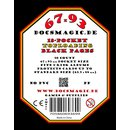 50 Docsmagic.de 18-Pocket Pages Black - Toploading...